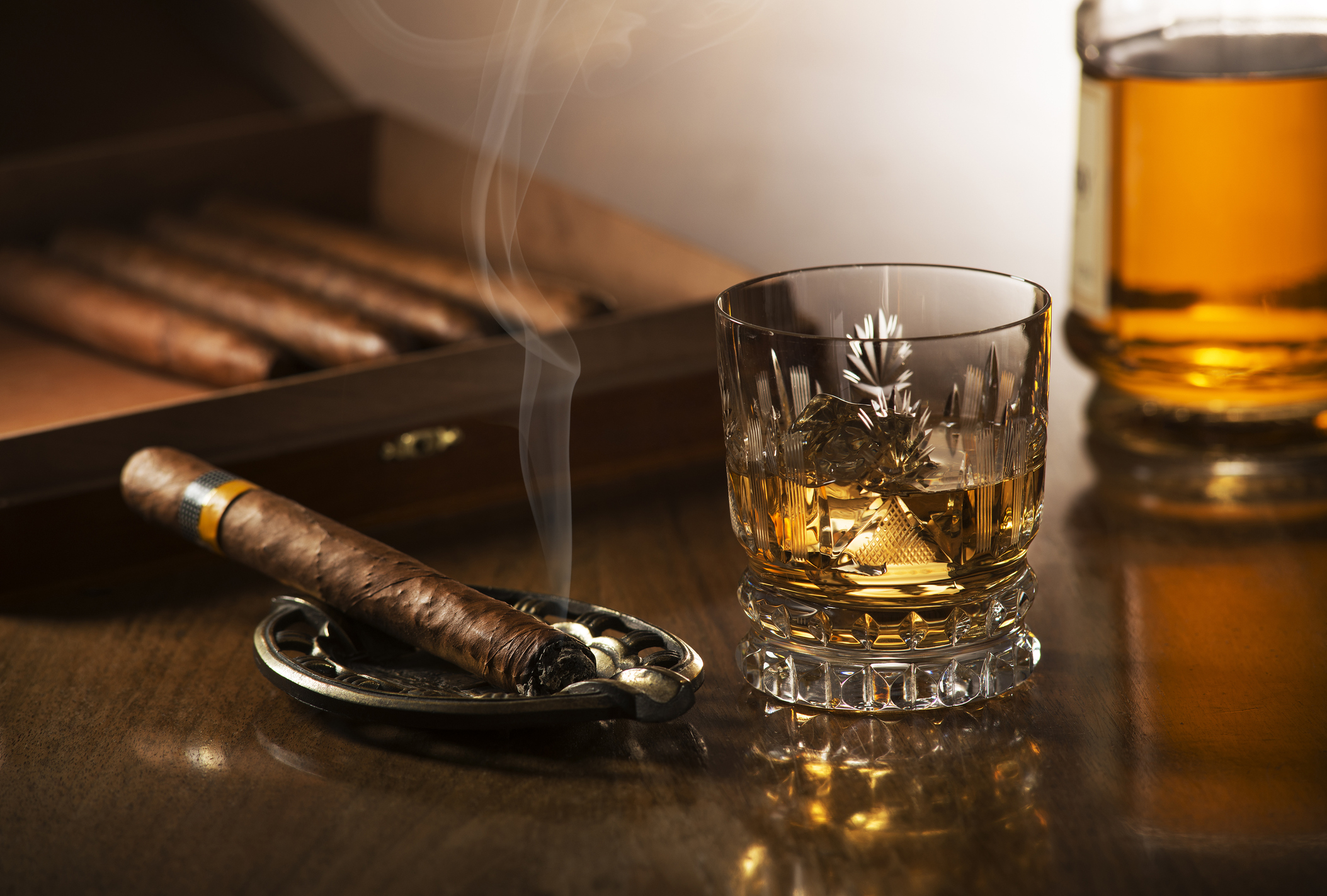 5 cigars and whiskeys that go hand in hand
